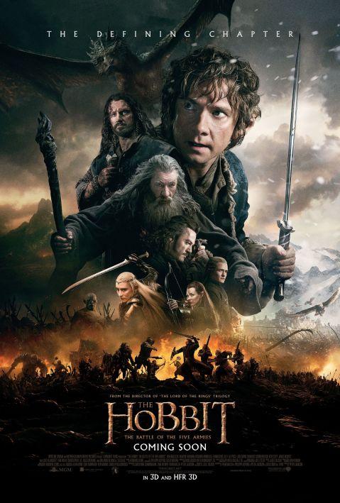 HobbitBattleofFiveArmiesPoster